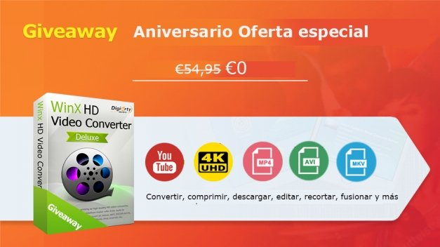 Descarga HD Video Converter gratis y ahorra 54,95 euros por tiempo limitado