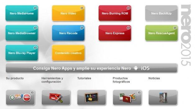 Review de Nero 2015 Platinum: diseñado para seducir al usuario del siglo XXI