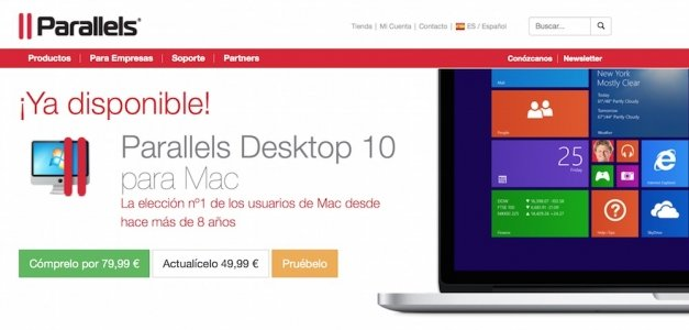 Parallels Desktop 10 incluye soporte para Windows 10