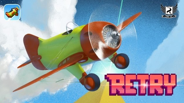 Retry, el Flappy Bird de Rovio, ya está disponible a nivel mundial