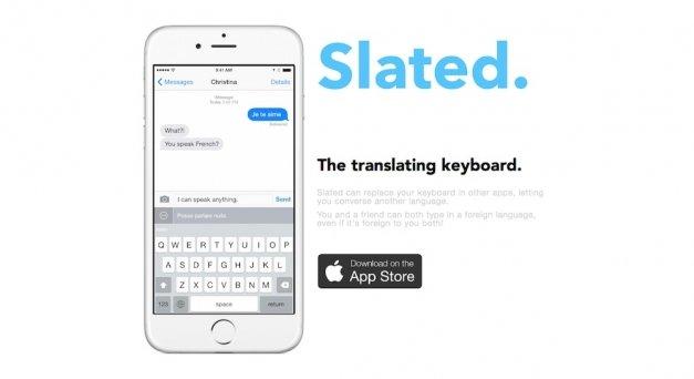 Slated, un teclado que traduce en tiempo real a otros idiomas