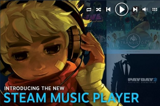Valve lanza su reproductor de música Steam Music Player