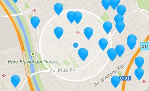 Usa aplicaciones que listan accesos a WiFi gratuitas y ahorra