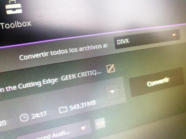 Cómo convertir archivos AVI a DivX