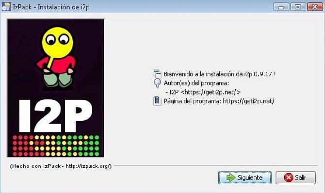 Programa de instalación de I2P
