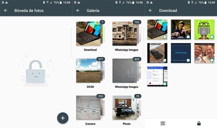 Proteger archivos de imagen en Android con AppLock
