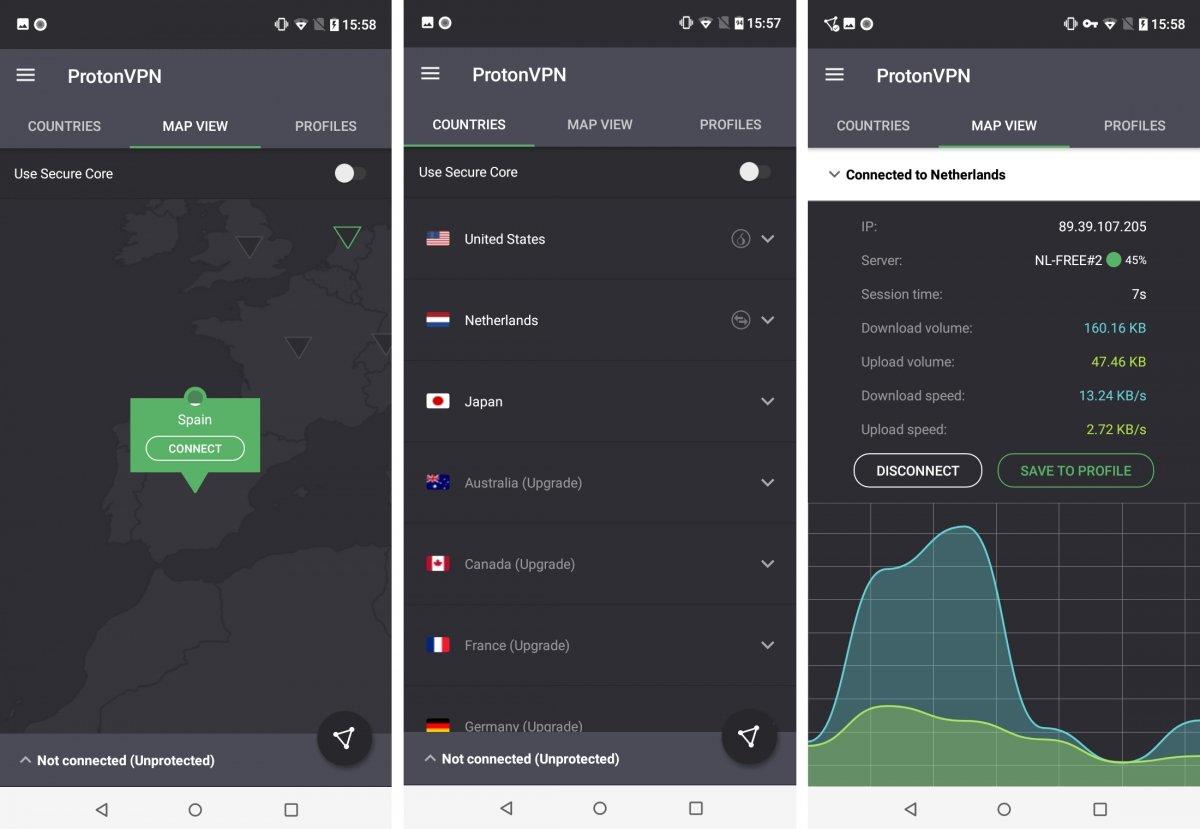 ProtonVPN, uno de los mejores VPN en Android