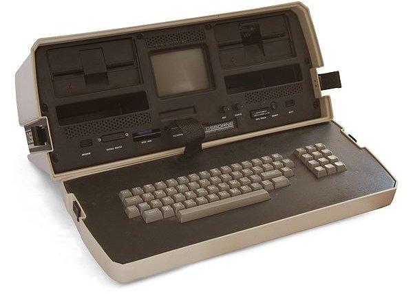 Prototipo del diseño de Osborne, en 1981