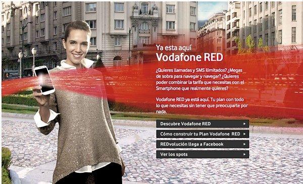 Publicidad Vodafone