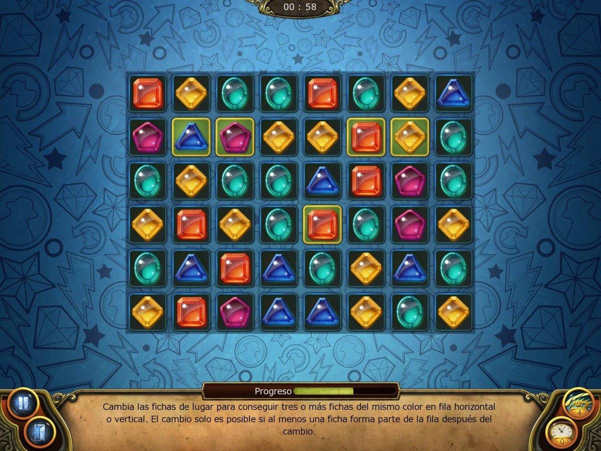 Puzzle Tres en raya