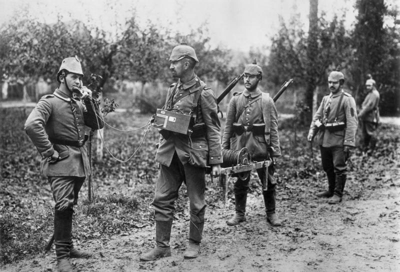 Radio teléfono en la primera Guerra Mundial