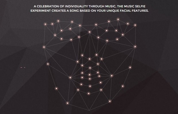 Rasgos biométricos que analiza The Music Selfie Experiment