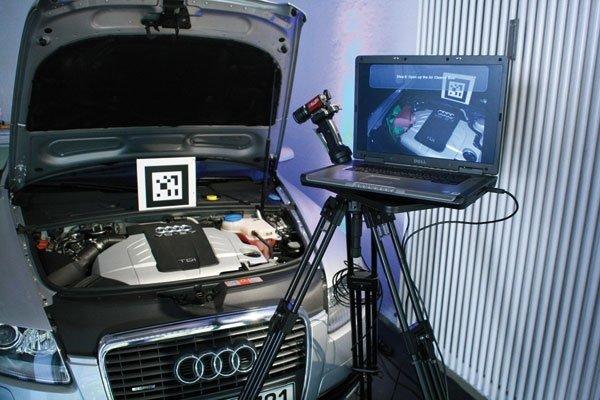 Realidad Aumentada Audi
