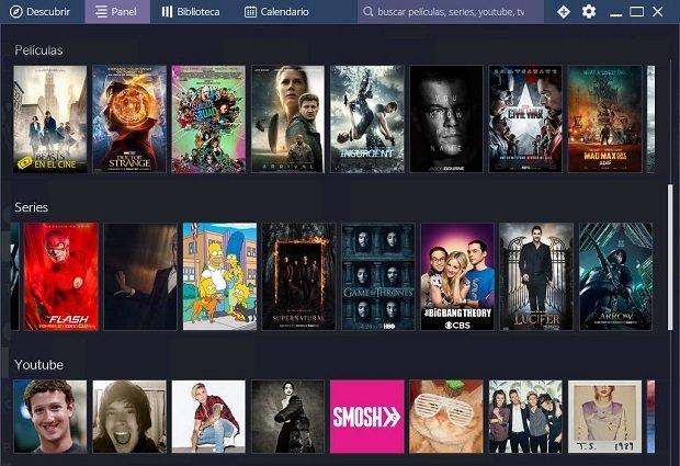 Recomendaciones personalizadas de series y películas en Stremio