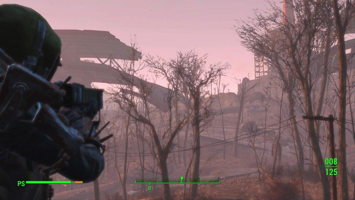Recorrer Fallout 4 arma en mano ralentiza nuestro paso