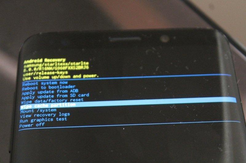 Recovery de serie en un Samsung Galaxy S9