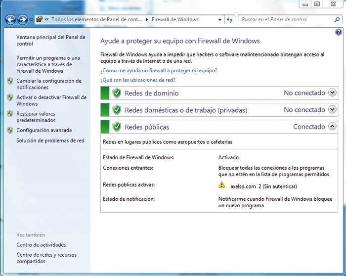 Redes Windows 7 2
