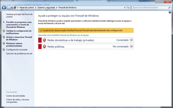 Redes Windows 7 7