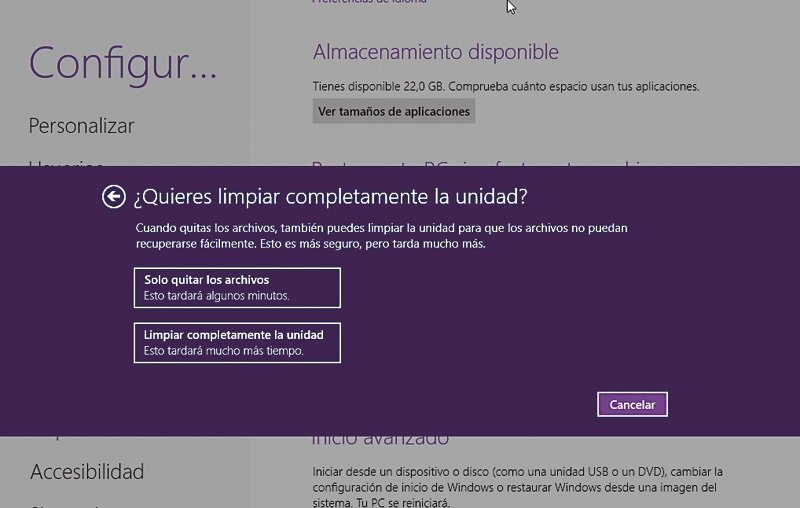 Reinstala Windows 8 4