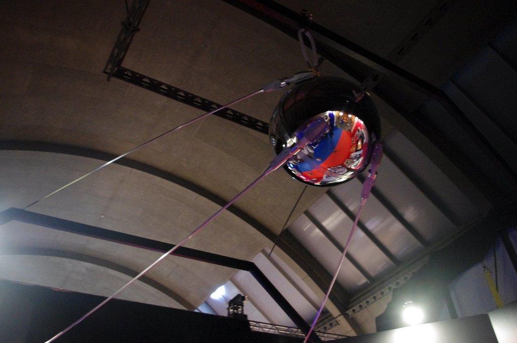 Réplica de la sonda Sputnik