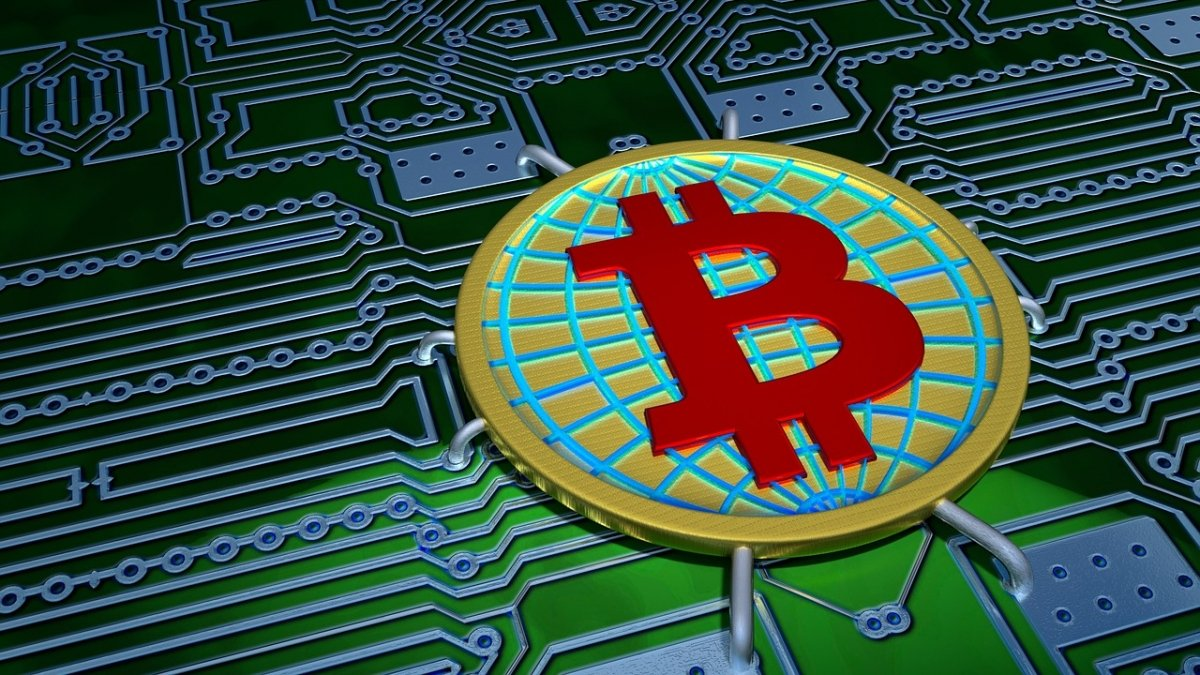 Representación del bitcoin como moneda electrónica