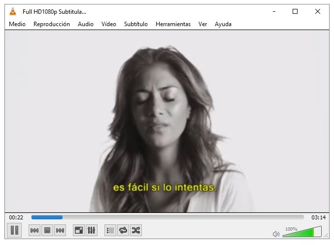 Reproducción de vídeo en VLC Media Player