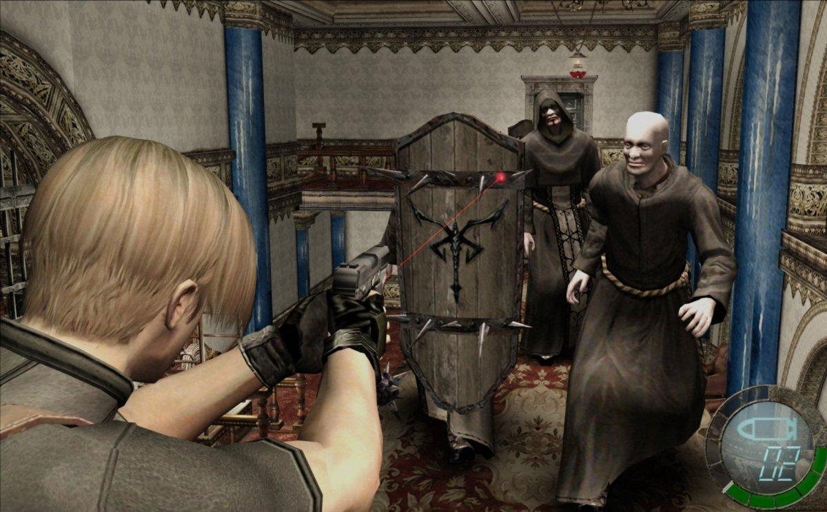 Resident Evil emplea perspectiva en tercera persona
