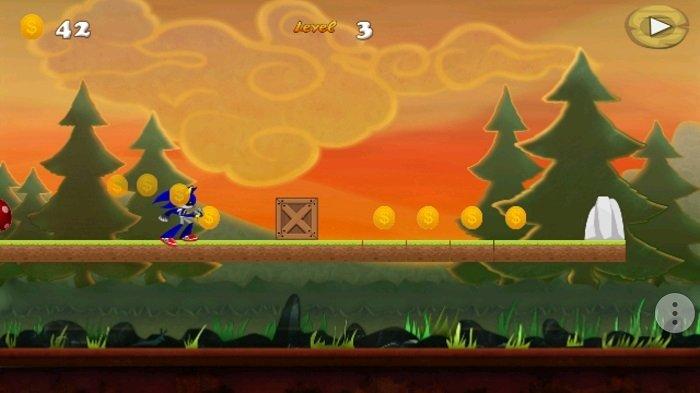 Robot Sonic, cuidado con la vista