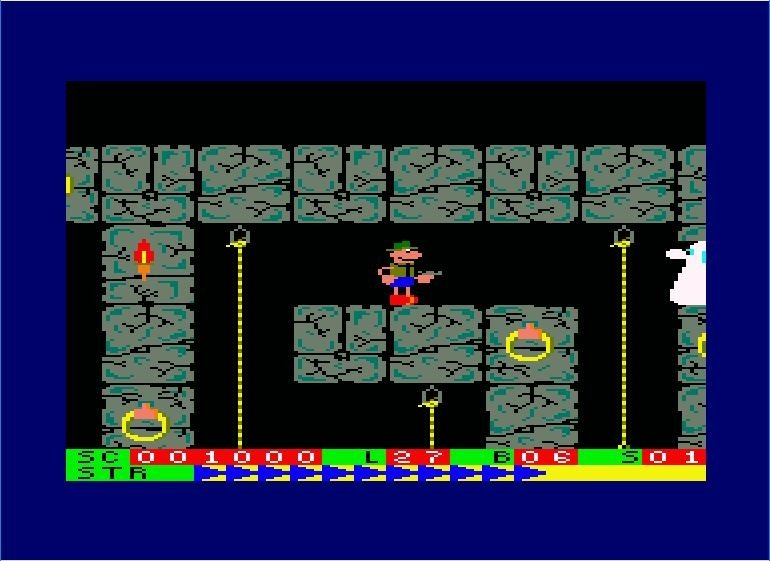 Roland in the Ropes, Fred para Amstrad CPC