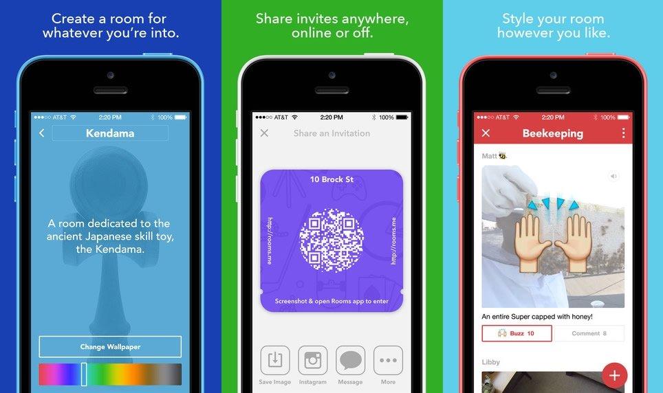 Rooms, la nueva App de Facebook para debatir con tus amigos - imagen 3