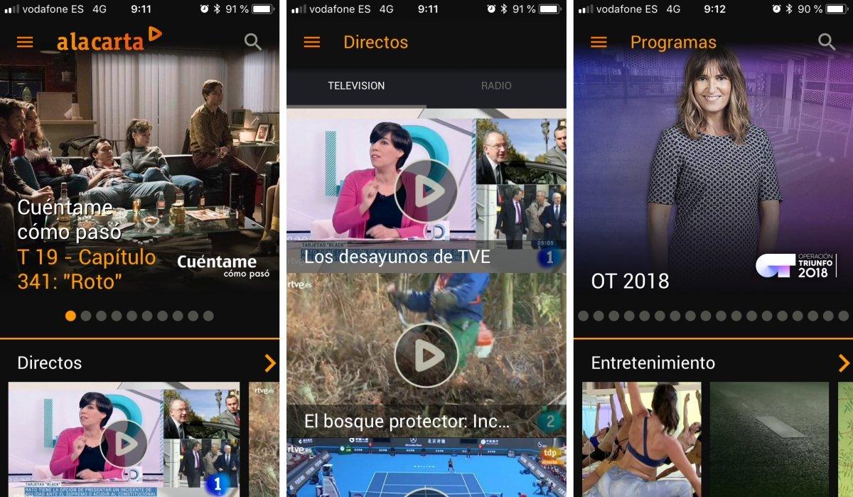 RTVE tiene su propia app para iPhone