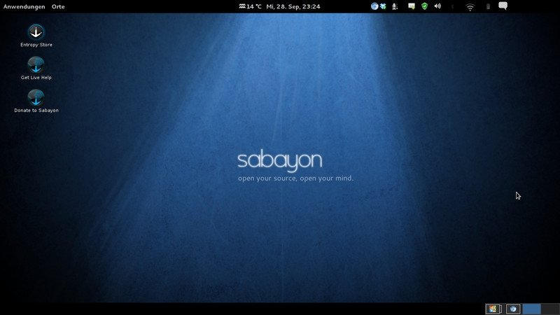 Sabayon, una versión más amigable de Gentoo y también rolling release