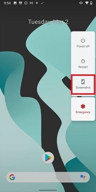 Sacar una captura con Android
