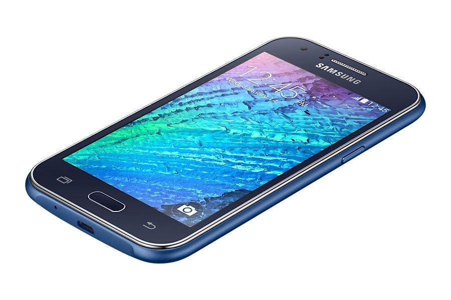 Samsung Galaxy J1 en azul