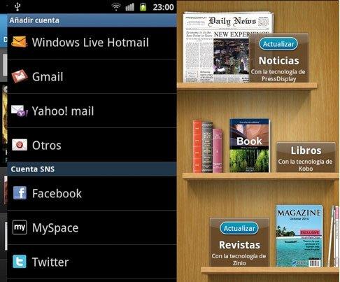 Samsung Galaxy S II Hubs