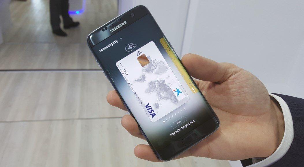 Samsung Pay es uno de los puntos fuertes del Galaxy S7