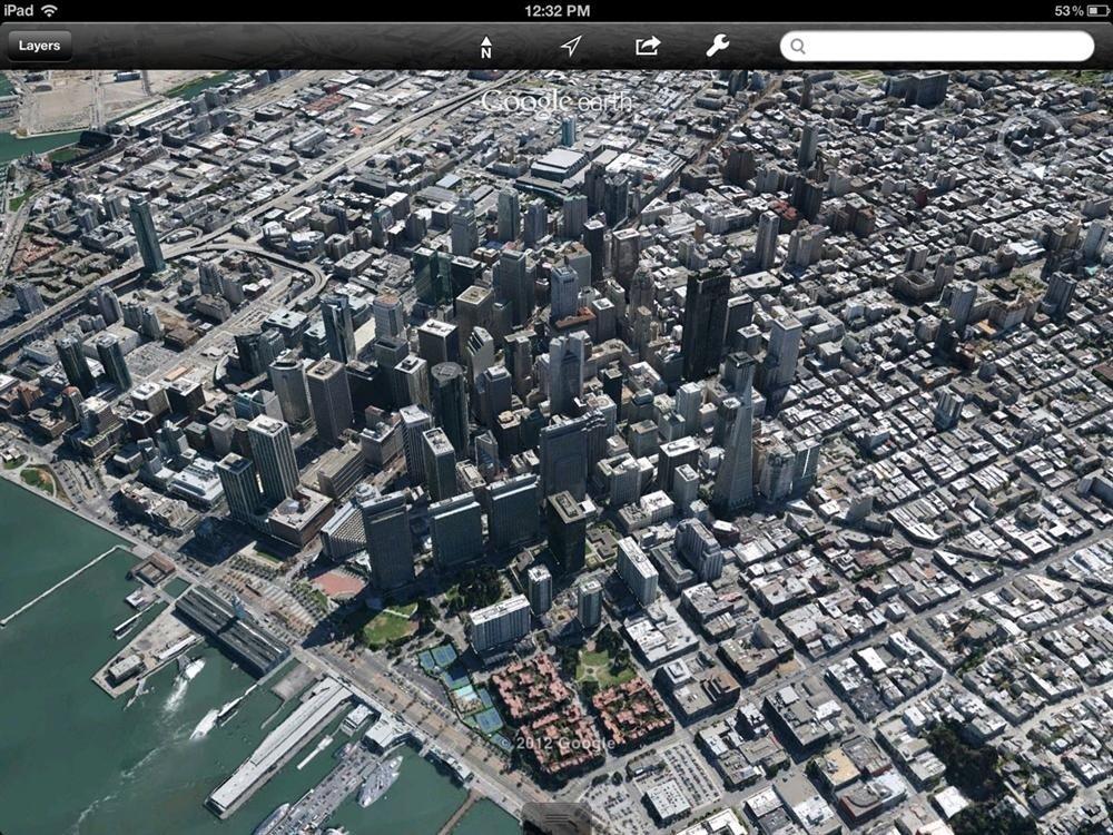 Google earth tendr ciudades completas modeladas en 3d san francisco en 3d google earth mapa gumiabroncs Images