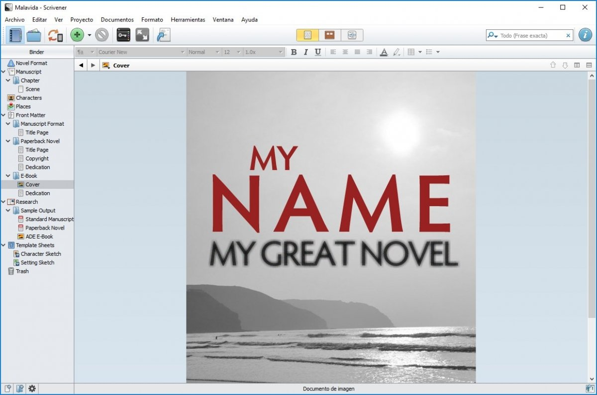 Scrivener es un software para escritores