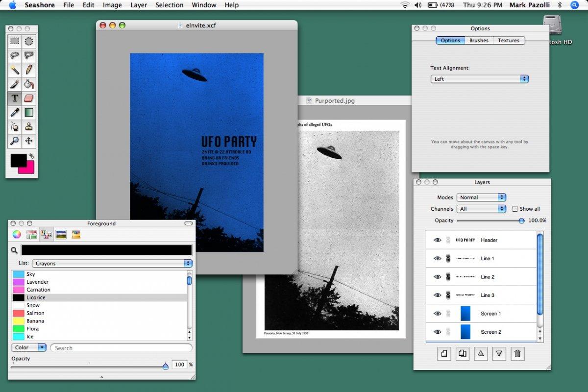 Seashore para OS X