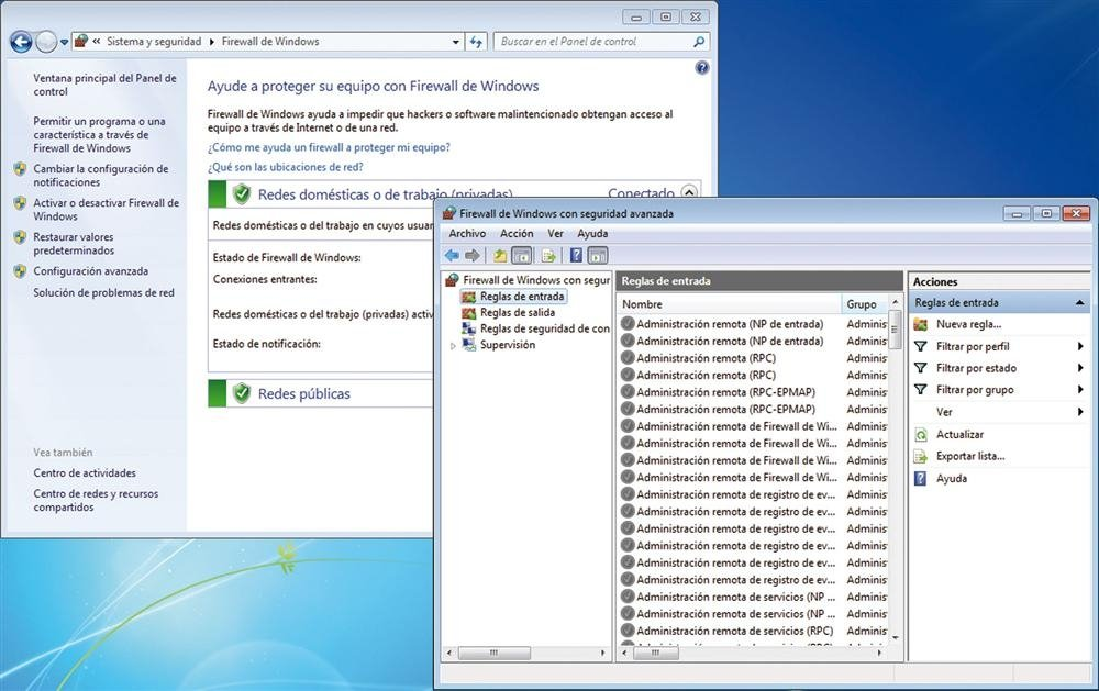 Seguridad con Windows 7-2
