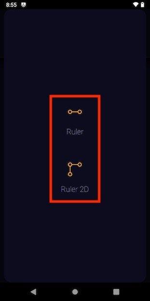 Seleccionar tipo de regla