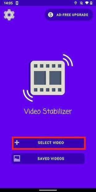 Seleccionar vídeo de la galeía