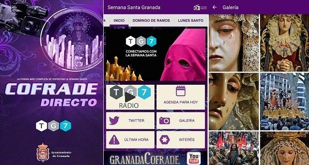 Semana Santa Granada 2015 TG7 ha sido por una televisión local granadina