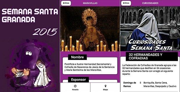 Semana Santa Granada fue la app de esta naturaleza más descargada de 2014