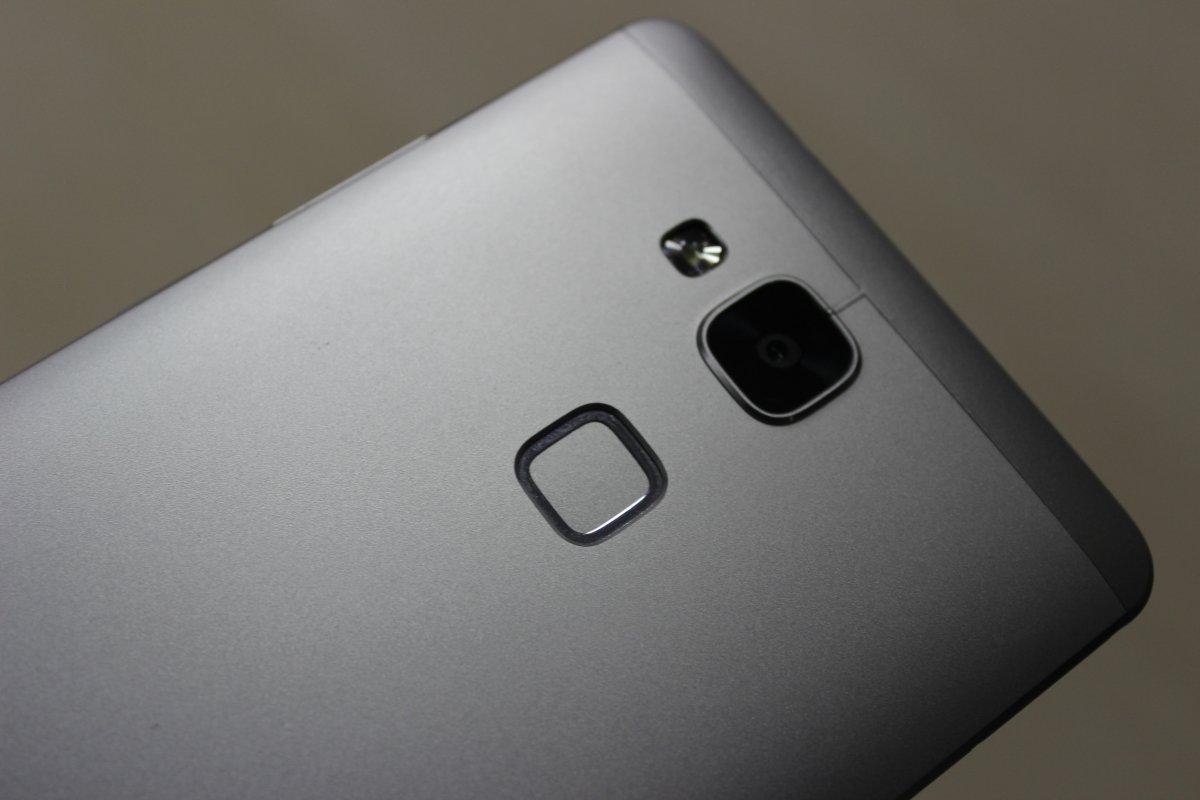 Sensor de huellas biométrico de Huawei Ascend Mate 7