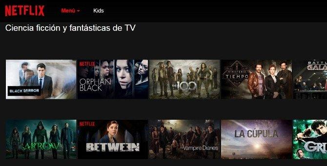 Series de televisión en Netflix: categoría de ciencia ficción y fantasía