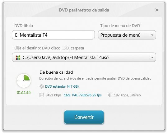 Series grabadas en HD