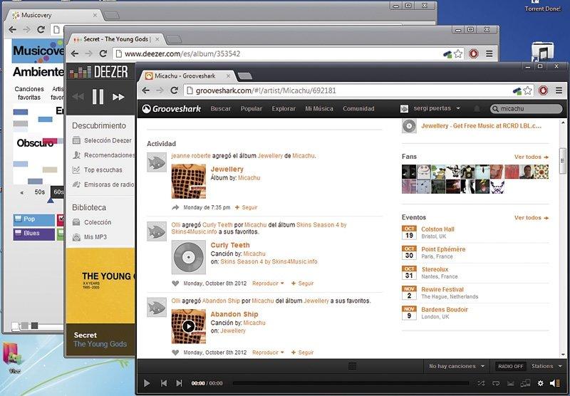 Servicios de música on-line 4