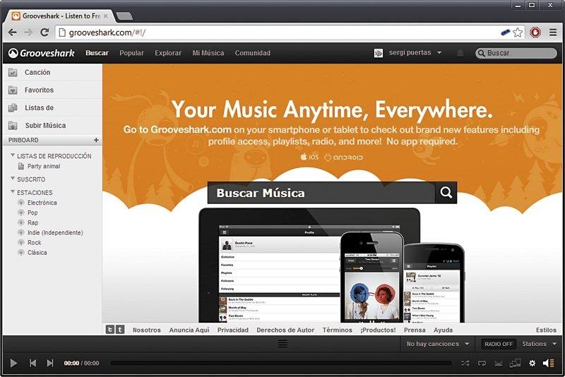 Servicios de música on-line 5