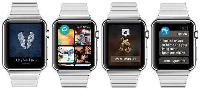 Shazam, Instagram, Clash of Clans y Lutron en Apple Watch